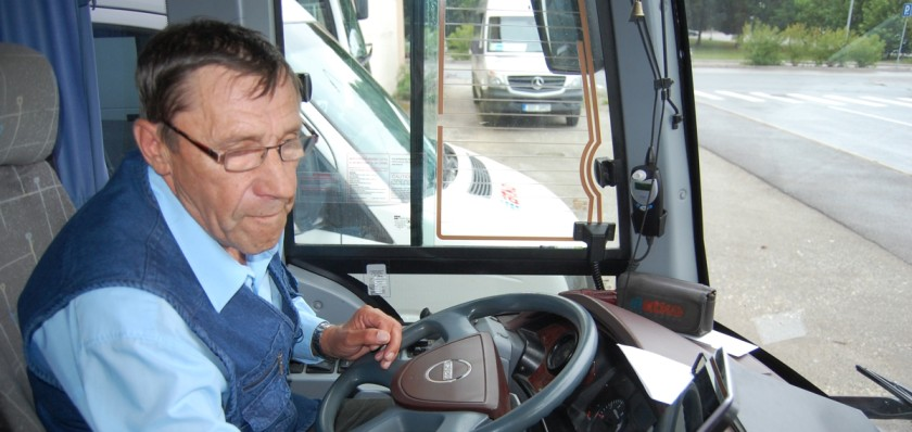 Bussijuht Rein Tooming
