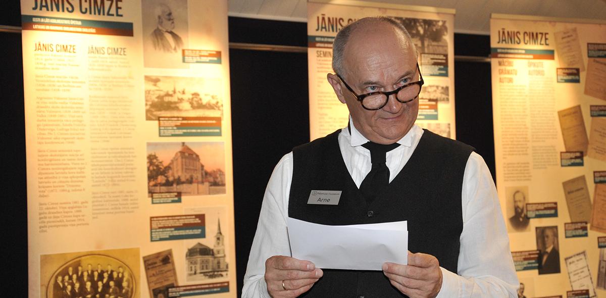 Palamusel avati õpetajate õpetajale pühendatud näitus