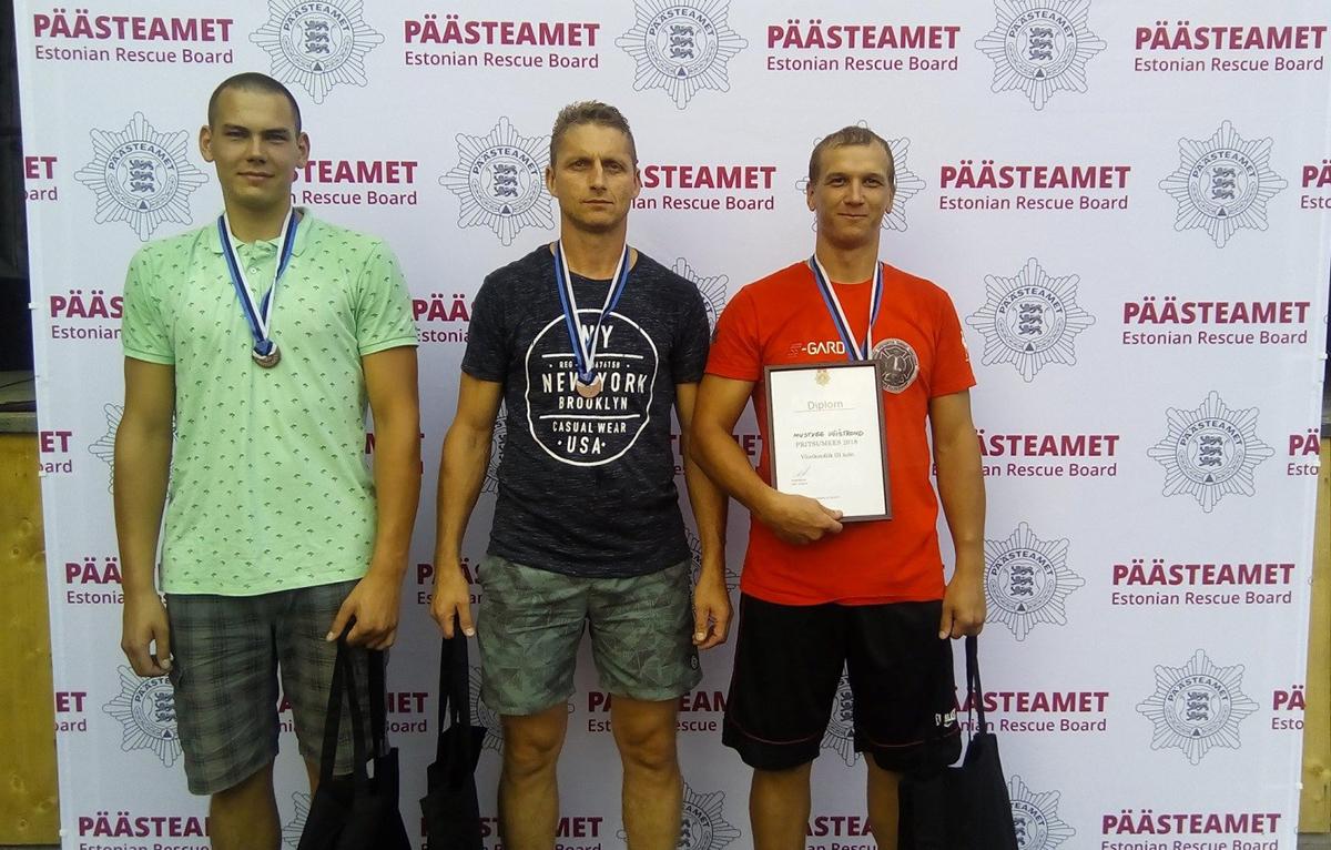 Jõgevamaa päästjad esindavad Eestit päästevõistlustel